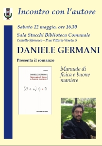 Locandina daniele germani GALLIATE