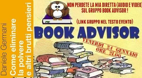 book advisor evento